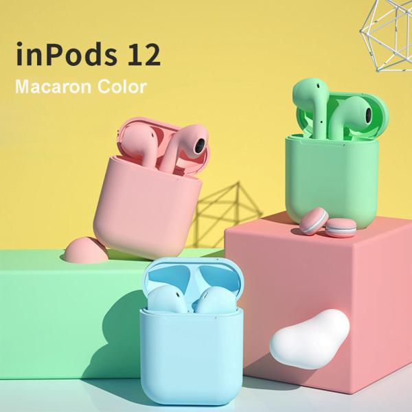 Auriculares Inalámbricos InPods 12 Macaron