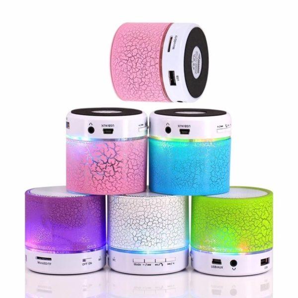 Parlante Bluetooth con Lámpara Led